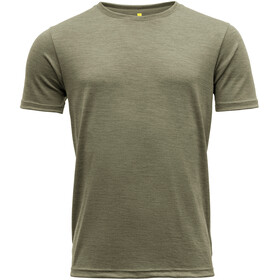Devold Eika Camiseta Hombre, Oliva